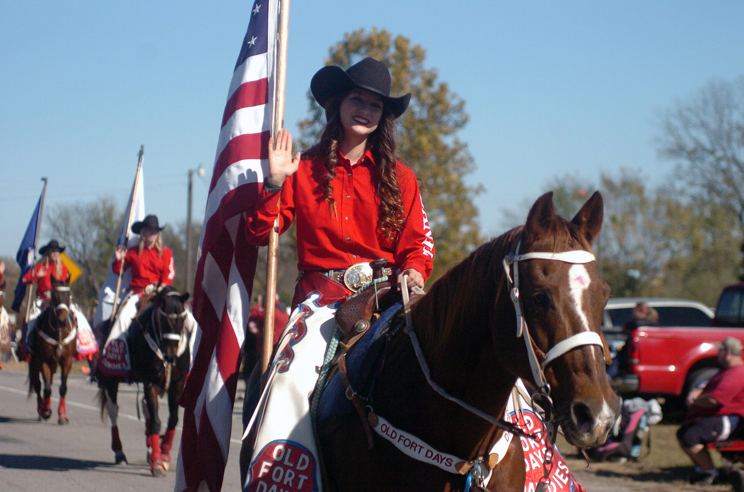 "A member of the Fort Smith Dandies rides down the road at the fifth annual Veterans Day Parade at Chaffee Crossing was held on Saturday, November 12, 2016 at the Chaffee Crossing Historic District in Fort Smith. The parade's theme was ""Women In The Military,"" and was held to honor veterans from all branches of service and all U.S. wars. (Please include credit when using this photo) STEVE MARQUEZ/StMarq Photography"