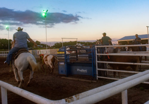 Cowboy Church Calf Roping