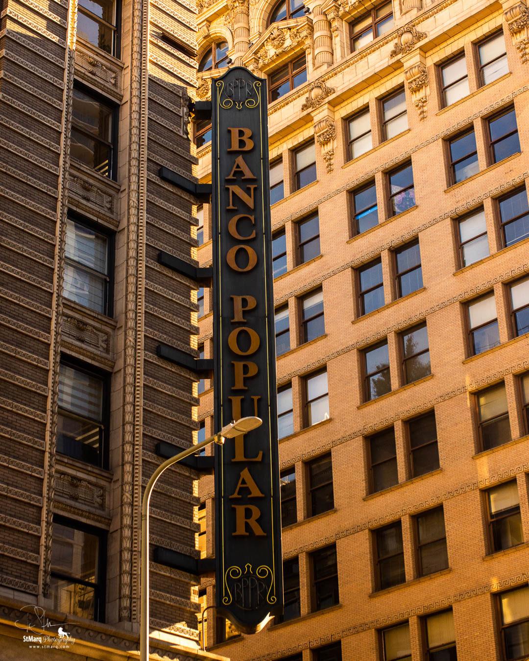 LA Downtown Architecture Banco