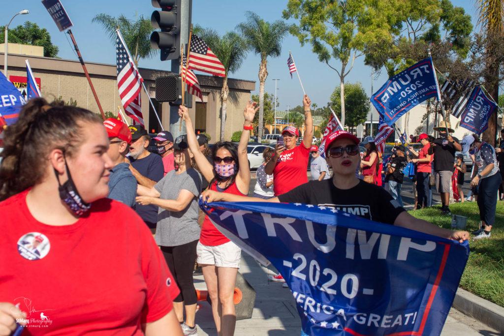 Trump Rally LA