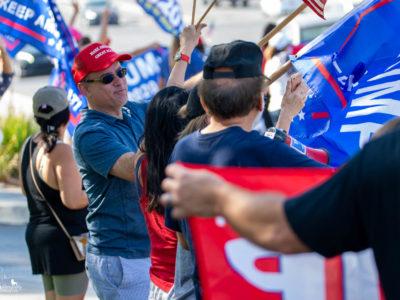 Trump Rally La Habra
