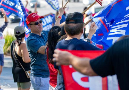 Trump Rally in La Habra
