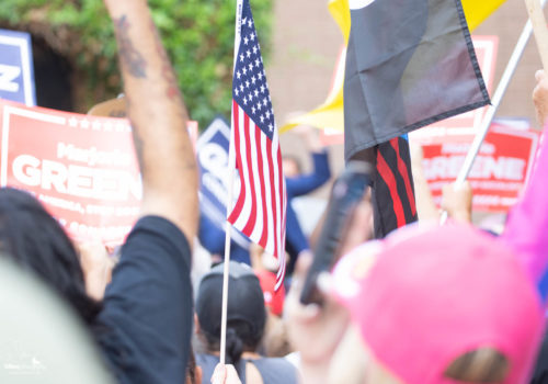 America First Rally In Riverside